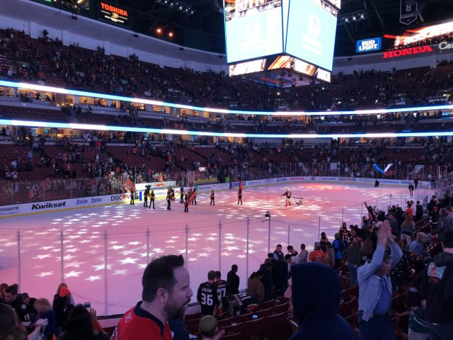 Honda Center ice Anaheim Ducks events parking seating food