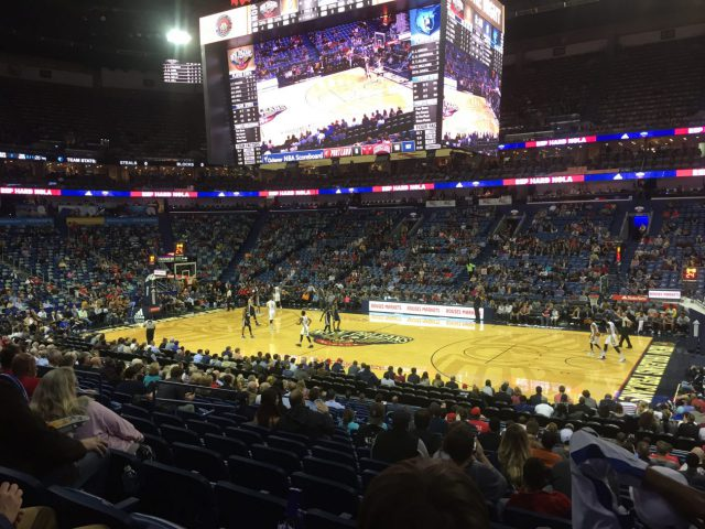 Smoothie King Center New Orleans Pelicans events tickets parking hotels seating food