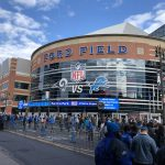 Ford Field Detroit Lions stadium events hotels parking seating food