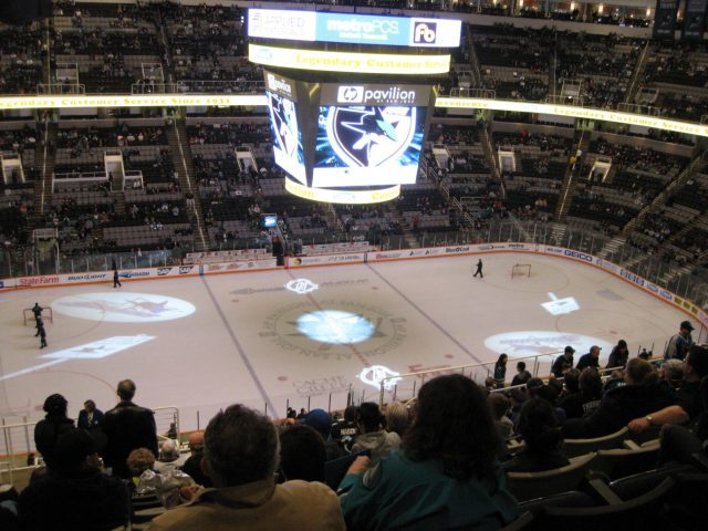 SAP Center at San Jose Sharks arena events guide