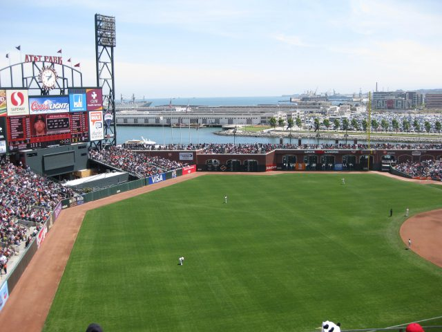 Oracle Park San Francisco Giants ballpark events seating chart