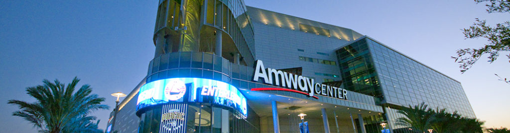 Amway Center events tickets parking hotels seating food