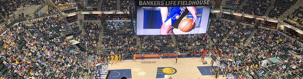Bankers Life Fieldhouse Indiana Pacers events tickets parking hotels seating food