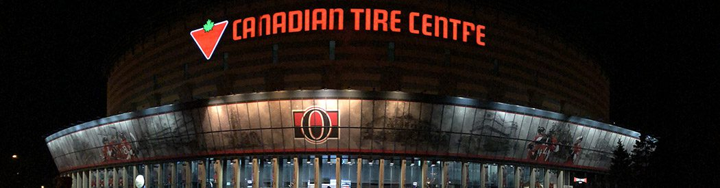 Canadian Tire Centre Ottawa Senators events tickets parking hotels seating food