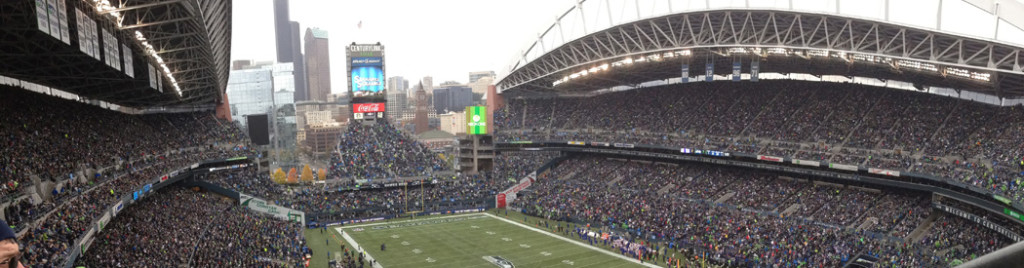 Lumen Field Seattle Seahawks events map parking seating