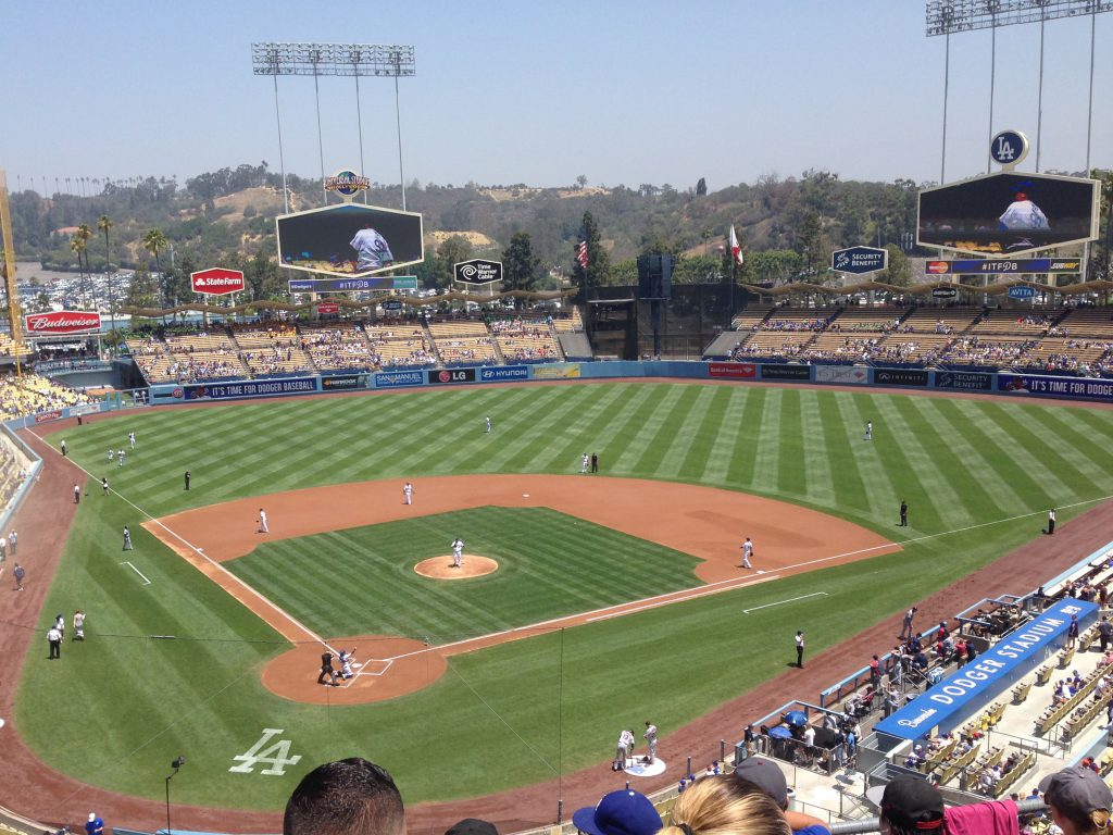 Dodger Stadium Los Angeles Dodgers events tickets hotels seating parking food