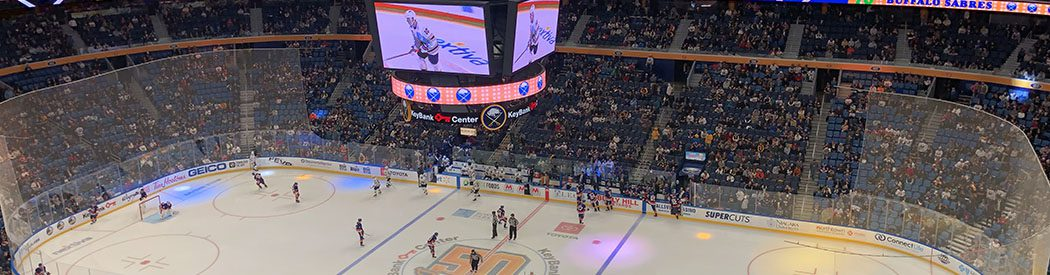 KeyBank Center Buffalo Sabres events tickets parking hotels seating food