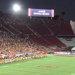 Los Angeles Memorial Coliseum renovation seating parking food LA