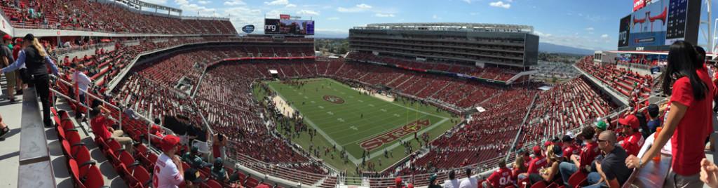 Levi's Stadium Santa Clara 49ers events