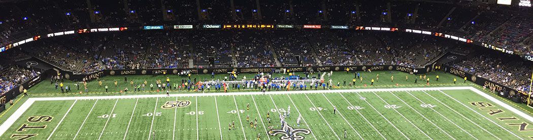 Mercedes-Benz Superdome New Orleans Saints events tickets parking seating hotels food