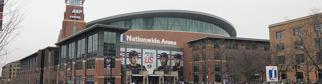 Nationwide Arena Columbus Blue Jackets events tickets parking hotels seating food