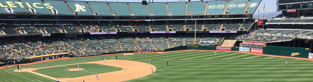 Oakland Coliseum Athletics ballpark events tickets hotels seating parking food
