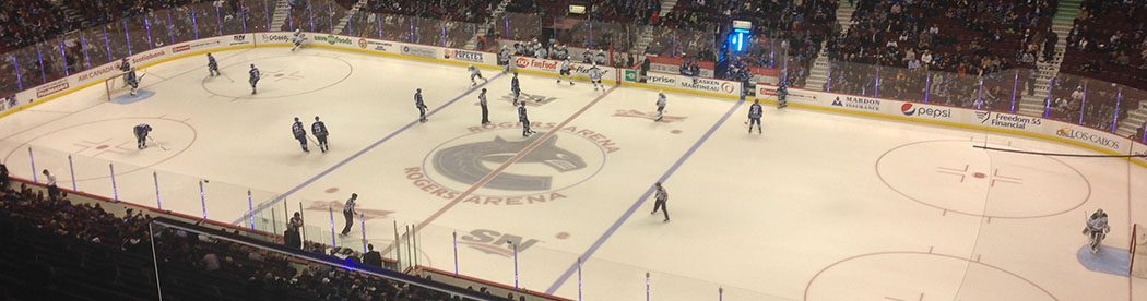 Rogers Arena Vancouver Canucks events tickets parking hotels seating food