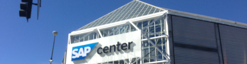 SAP Center at San Jose Sharks arena events