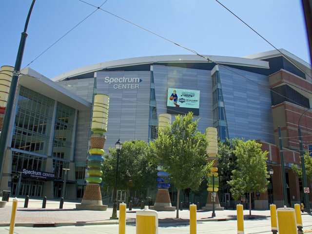 Spectrum Center Charlotte Hornets events tickets parking hotels seating food