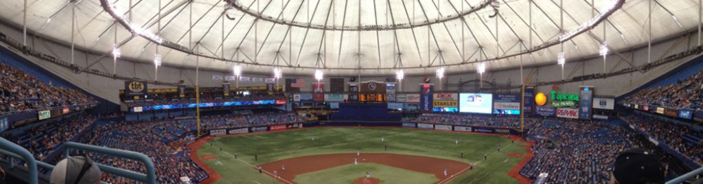 tropicana field tampa bay rays stadium guide for 2020 itinerant fan tropicana field tampa bay rays stadium