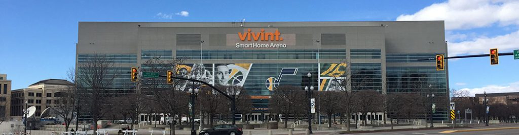 Vivint Smart Home Arena Utah Jazz events tickets parking hotels seating food