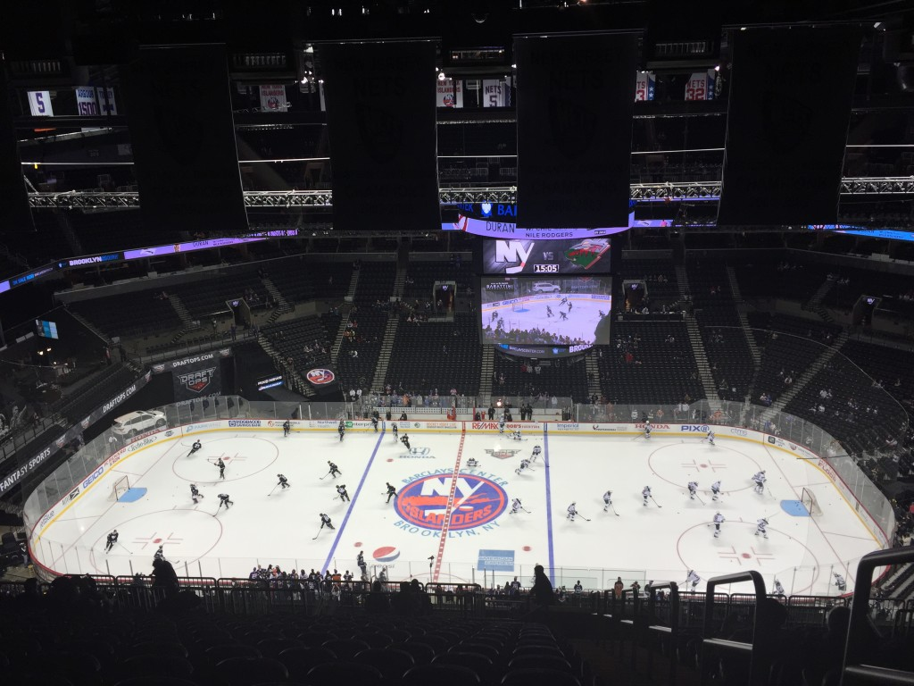 Barclays Center Islanders