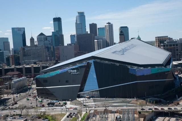 U.S. Bank Stadium (Via vikings.com)