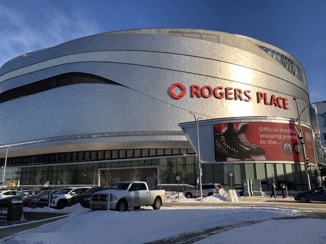 Rogers Place Edmonton Oilers arena events parking hotels seating food