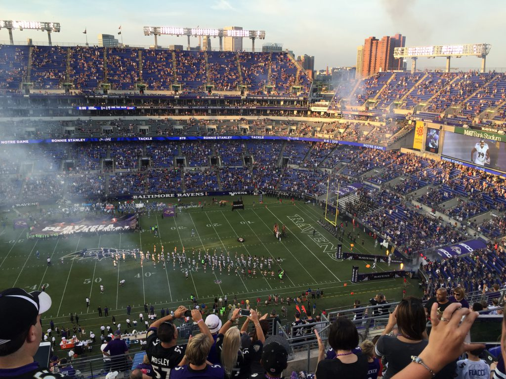 M&T Bank Stadium Baltimore travel guide sports teams