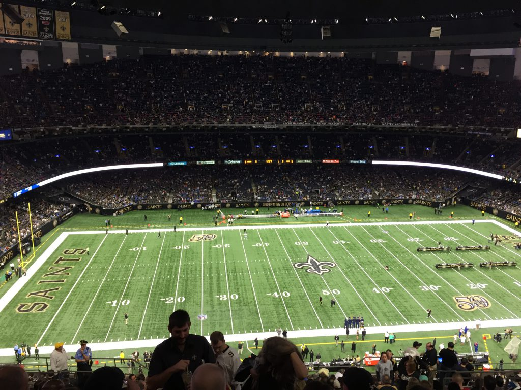 Mercedes-Benz Superdome New Orleans sports teams travel guide