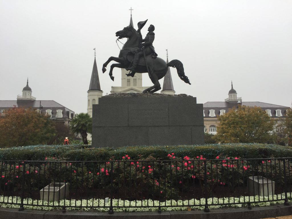 Jackson Square New Orleans sports teams travel guide