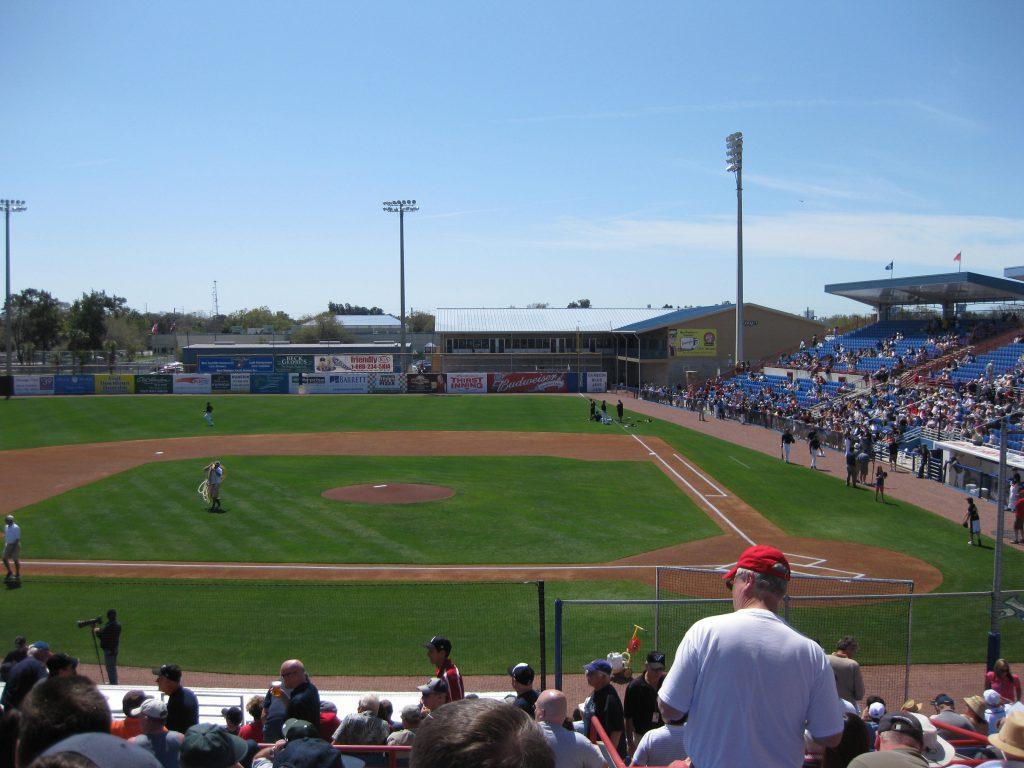 TD Ballpark Dunedin Florida spring training Grapefruit League