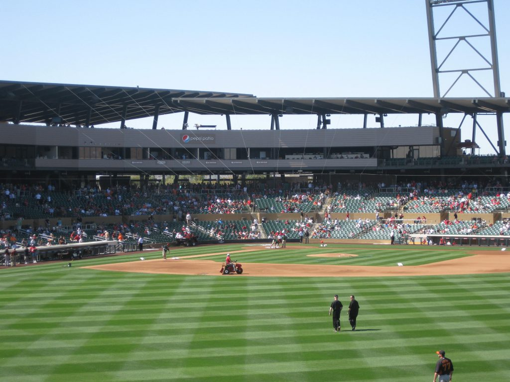 Salt River Fields at Talking Stick Cactus League spring training stadiums