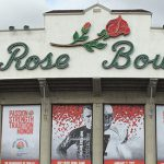 Rose Bowl Stadium panorama parade 2020