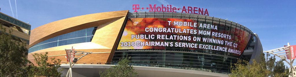 T-Mobile Arena Las Vegas events parking seating food