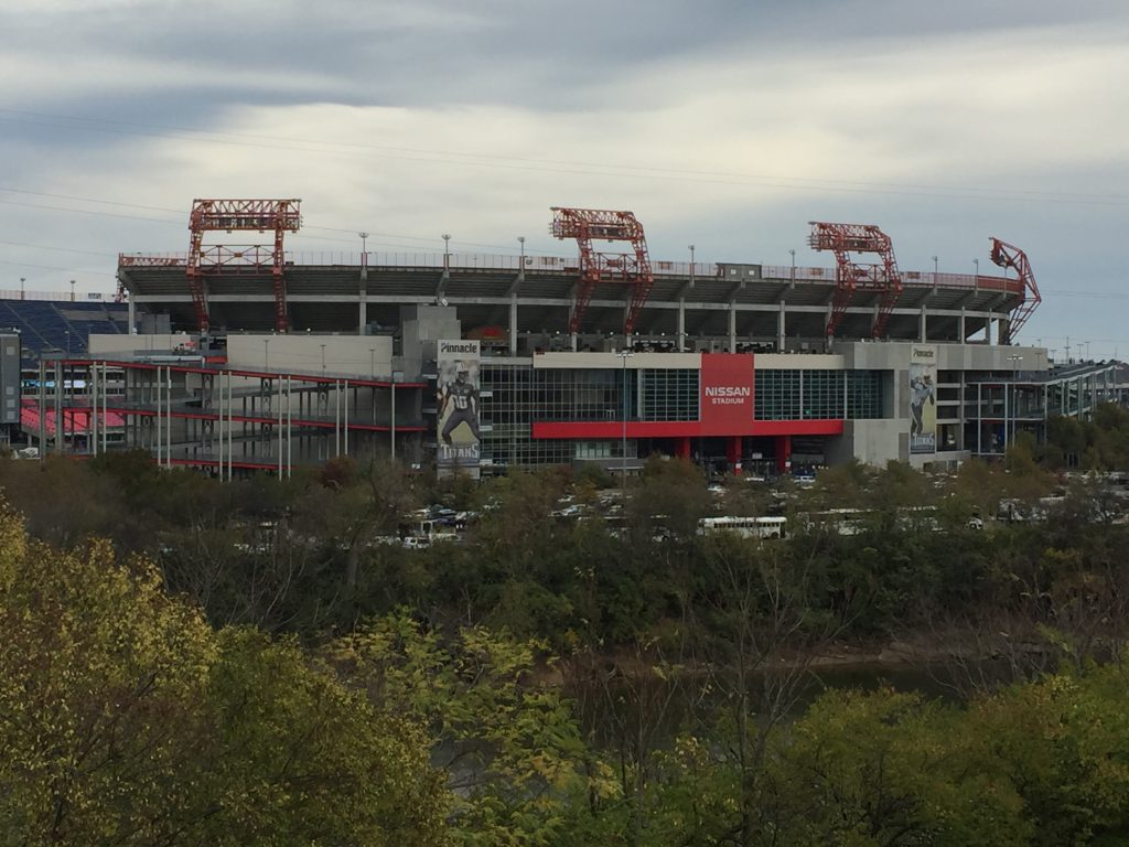 Nissan Stadium Nashville sports travel