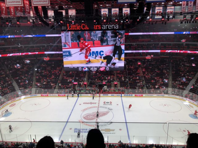 Little Caesars Arena Detroit Red Wings Pistons events tickets parking hotels seating food