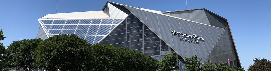 Mercedes-Benz Stadium Atlanta Falcons Atlanta United FC events tickets parking seating food
