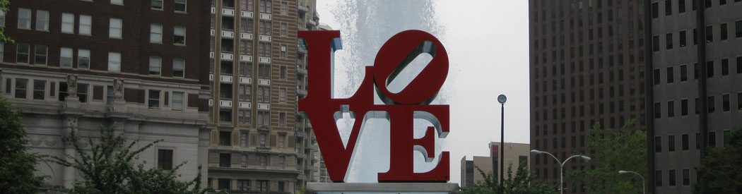 Philadelphia Love sculpture sports teams travel guide