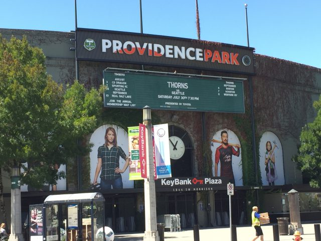 Providence Park Portland sports teams travel guide