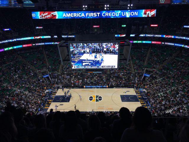 Vivint Smart Home Arena Utah Jazz events tickets parking hotels seating food