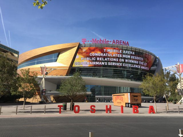 T-Mobile Arena Las Vegas sports travel teams tips