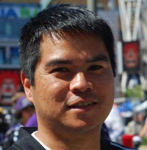 Edward de la Fuente Itinerant Fan founder