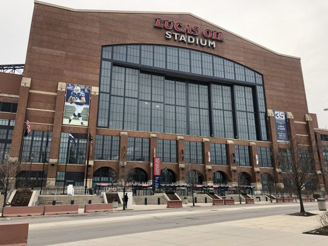 Lucas Oil Stadium Indianapolis sports travel