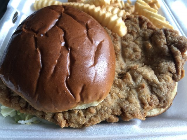 Pork tenderloin sandwich Indianapolis sports teams travel guide