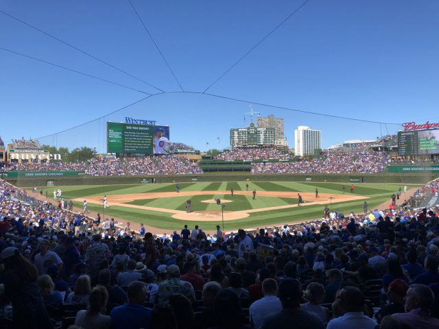 Wrigley Field Chicago sports teams travel guide
