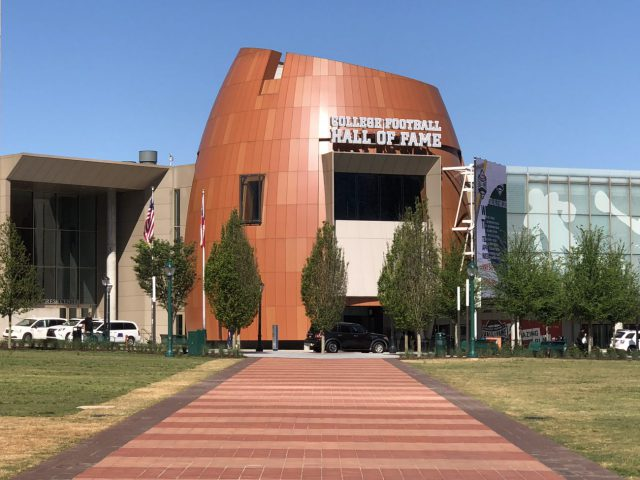 College Football Hall of Fame entrance
