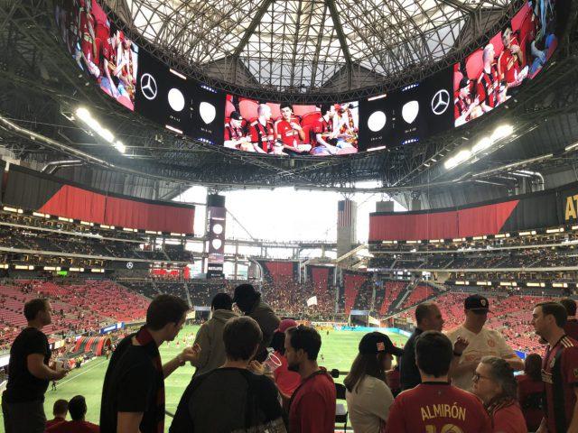 Mercedes-Benz Stadium Atlanta Falcons Atlanta United FC events tickets parking seating food