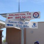 Club 123 milepost