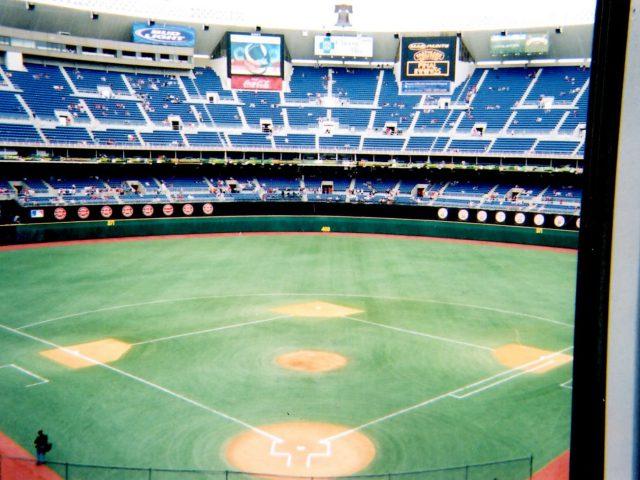 Veterans Stadium field