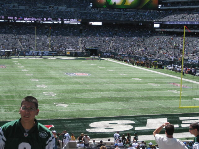 MetLife Stadium field will fans be allowed into NFL stadiums in 2020