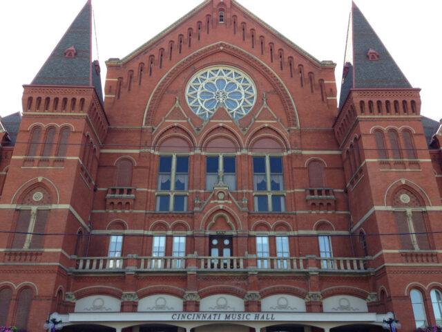 Cincinnati Music Hall sports teams travel guide