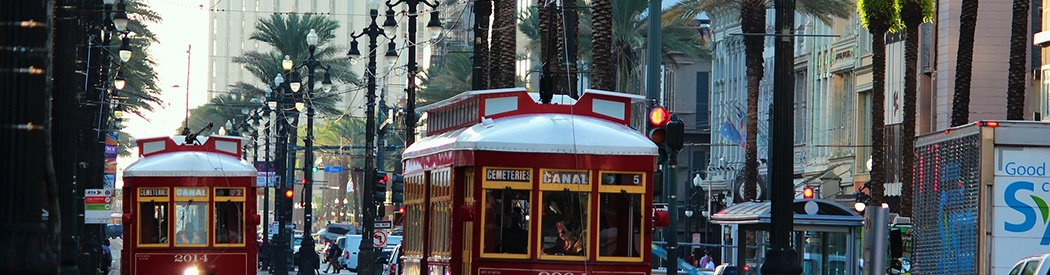 New Orleans streetcars sports teams travel guide