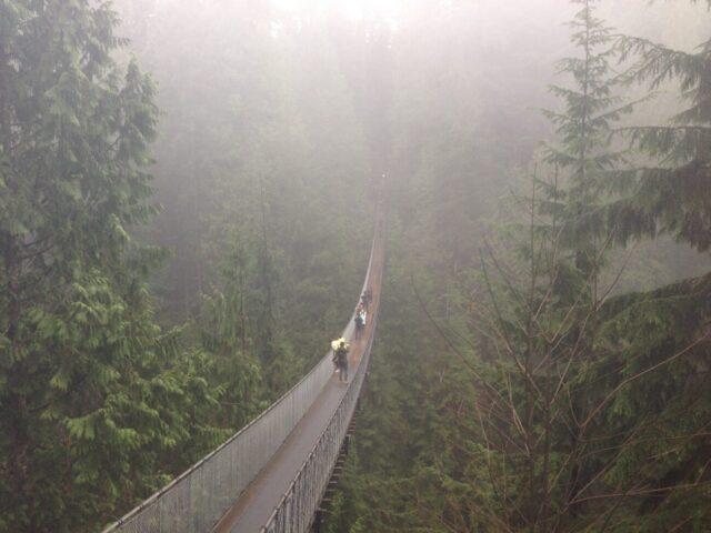 Capilano Suspension Bridge Vancouver sports teams travel guide